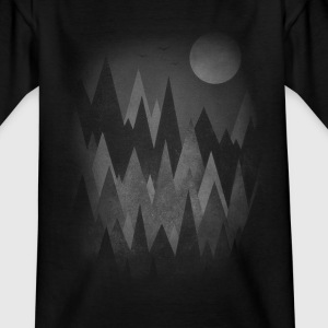 Dark Mystery Woods (Abstract Mountain Art) Shirts - Kids' T-Shirt
