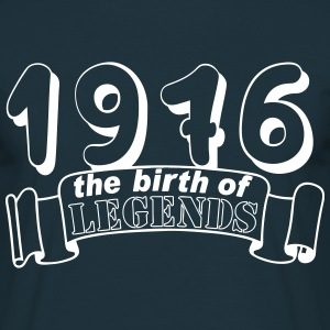 1976 the birth os Legends T-Shirts - Männer T-Shirt
