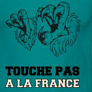 T-shirt France - Touche pas à la France Tee shirts - T-shirt Homme