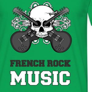T-shirt France - French rock music NB Tee shirts - T-shirt Homme