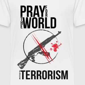 Pray for the World - Teenager Premium T-Shirt