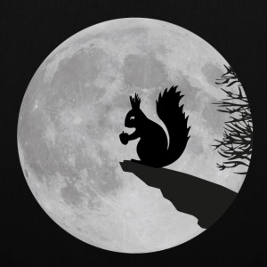 Moon squirrels full moon night Acorn Bags & Backpacks - Tote Bag