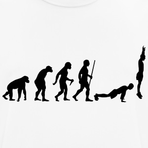 Evolution Burpee T-shirts - mannen T-shirt ademend