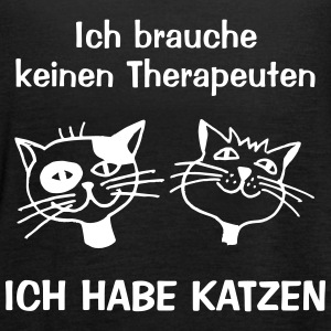 TherapieKatze Tops - Frauen Tank Top von Bella