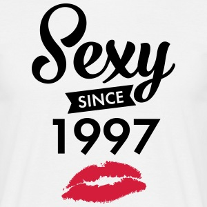 Sexy Since 1997 T-shirts - Herre-T-shirt