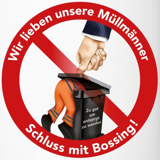 Thermobecher -rechts-händer  -  Schluss mit Bossing - coffee to go