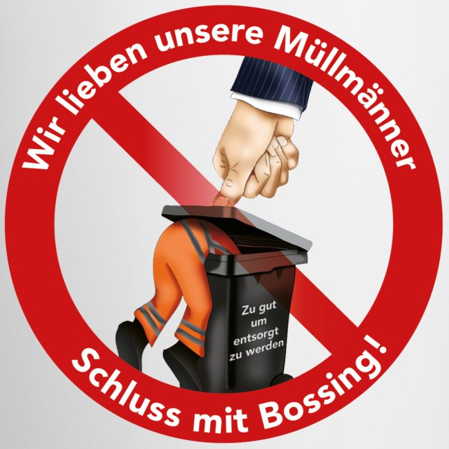 Becher -rechts-händer  -  Schluss mit Bossing