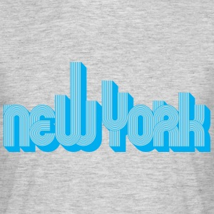 New York Skyline - T-shirt Homme