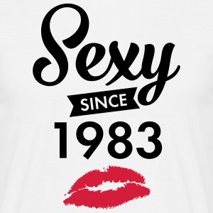 Sexy Since 1983 T-Shirts - Men's T-Shirt