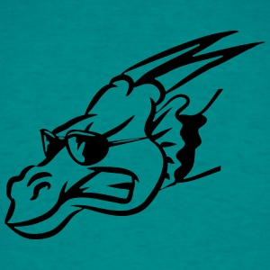 Dragon wings fairy sunglasses head T-Shirts - Men's T-Shirt