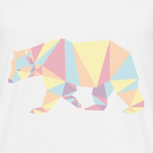 Color Bear Animal Prism - T-shirt Homme