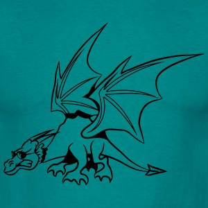 Drage wings fairy solbriller T-shirts - Herre-T-shirt