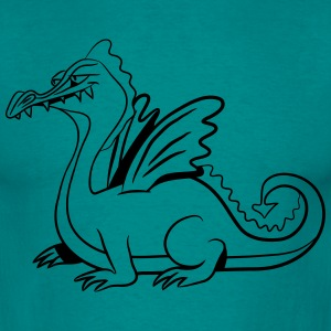 Dragon wings tell fairytales T-Shirts - Men's T-Shirt