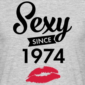 Sexy Since 1974 T-shirts - Herre-T-shirt