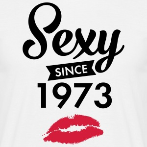 Sexy Since 1973 T-shirts - Mannen T-shirt