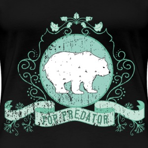 bear_top_predator_04201603 T-Shirts - Frauen Premium T-Shirt