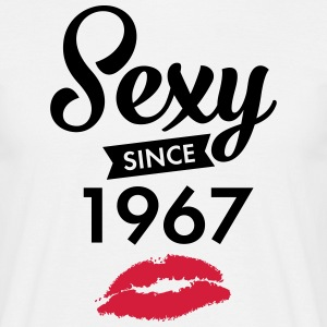 Sexy Since 1967 T-shirts - Mannen T-shirt