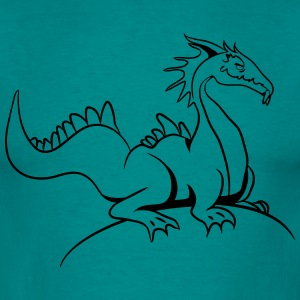 dragon T-shirts - Herre-T-shirt