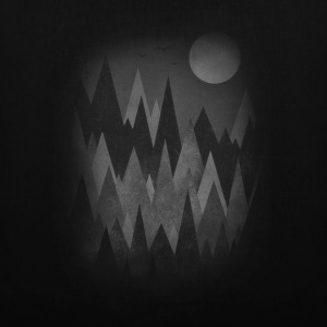 Dark Mystery Woods (Abstract Mountain Art) Vesker & ryggsekker - Stoffveske