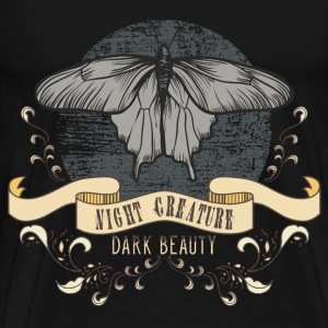 moth_creature_of_the_night_04201604 T-Shirts - Männer Premium T-Shirt