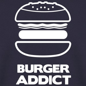 Tee shirt Premium Ado burger addict - Sweat-shirt Homme
