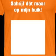 Ontwerp ~ Invul T-shirt voor Koningsdag