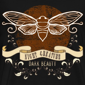 moth_creature_of_the_night_04201608 T-Shirts - Männer Premium T-Shirt