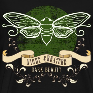moth_creature_of_the_night_04201609 T-Shirts - Männer Premium T-Shirt