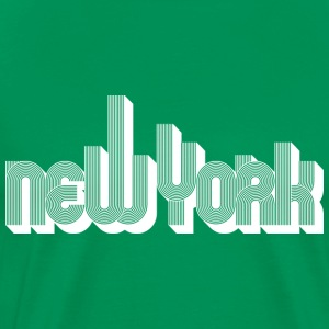 New York skyline (Blanc) - T-shirt Premium Homme