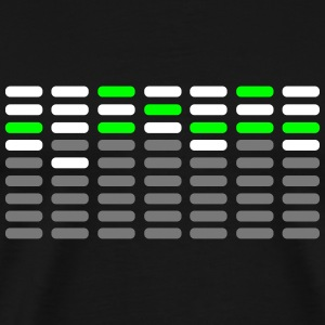 EQ Analyser Analyzer Digital Display Anzeige T-Shirts - Männer Premium T-Shirt