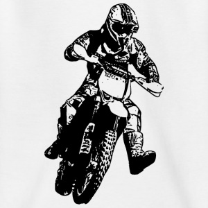 enduro black Shirts - Kinderen T-shirt