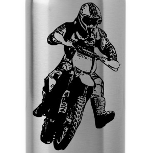 enduro black Mugs & Drinkware - Water Bottle