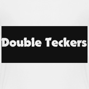 football shirt double teckers Shirts - Teenage Premium T-Shirt