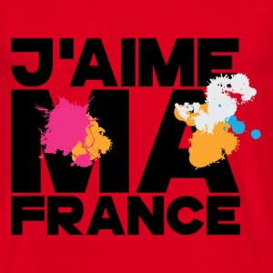 FRANCE - J'aime ma France Tee shirts - T-shirt Homme