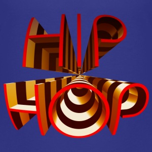 Hip Hop Rap 3D Tag Graffiti Text Schrift T-Shirts - Teenager Premium T-Shirt