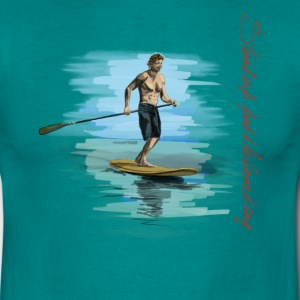 Standup Paddleboarding Tee shirts - T-shirt Homme