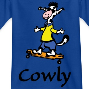 Cowly Longboarder - Kinder T-Shirt