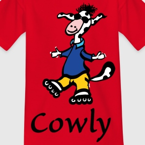 Cowly Skating - Kinder T-Shirt