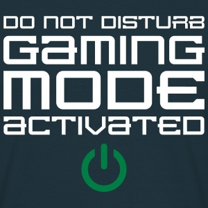 Gaming Mode Activated T-shirts - Mannen T-shirt