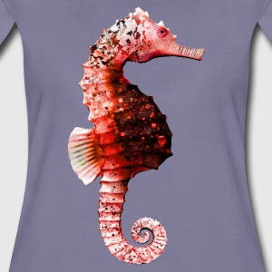 Seahorse in Red T-Shirts - Women's Premium T-Shirt
