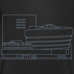 Guggenheim Museum New York T-Shirts - Men's V-Neck T-Shirt
