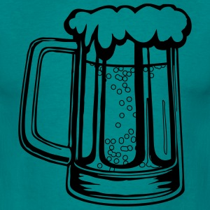 Drinking beer thirst handle booze T-Shirts - Men's T-Shirt