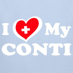 I LOVE MY Conti_2 - Baby Bio-Langarm-Body
