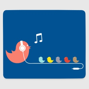 Like a bird on a Wire - Mouse Pad - Mousepad (Querformat)