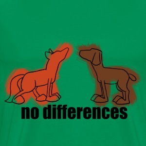 no differences - Männer Premium T-Shirt