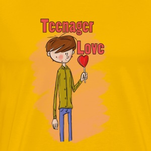 Teenager Love - Männer Premium T-Shirt