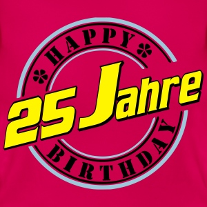 25Happy Birthday Siegel F T-Shirts - Frauen T-Shirt