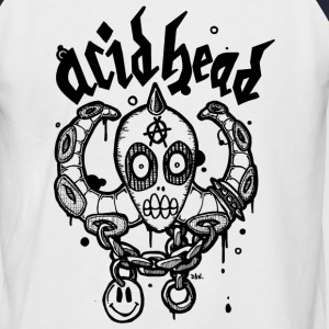Acid head  - Men's Baseball T-Shirt