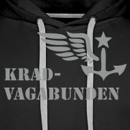 Motiv ~ Kapuzenpulli: Logo + Schriftzug vorne (grauer Aufdruck)