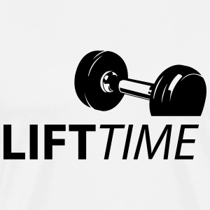 Lift Time - Männer Premium T-Shirt